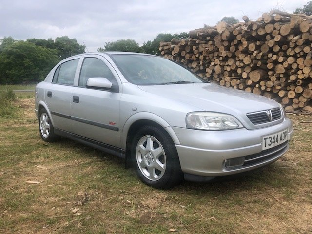 1999 Vauxhall Astra 1.6 16v SXi 1 owner 73000 mile For Sale (picture 1 of 6)