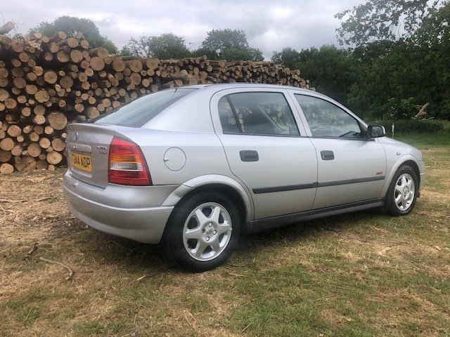 1999 Vauxhall Astra 1.6 16v SXi 1 owner 73000 mile For Sale (picture 3 of 6)