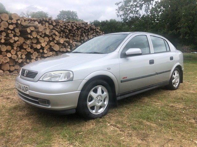 1999 Vauxhall Astra 1.6 16v SXi 1 owner 73000 mile For Sale (picture 4 of 6)