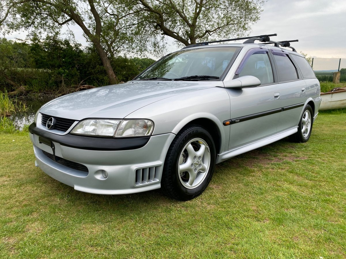 1999 VAUXHALL VECTRA LIMITED EDITION IRMSCHER i500 VECTRA 2.5 V6 For Sale (picture 1 of 6)