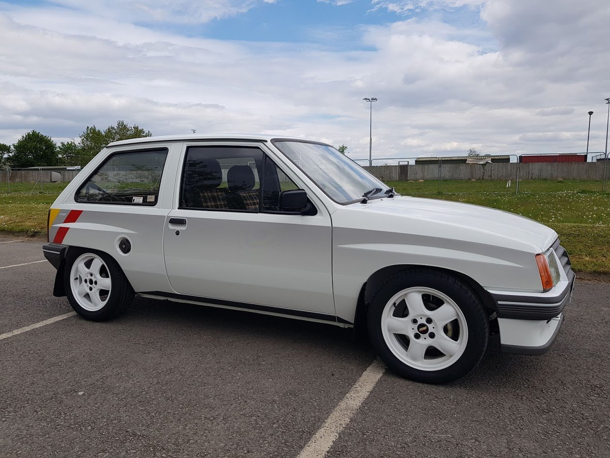 1985 Vauxhall Nova Sport 1.3 - rare and fully restored For Sale (picture 1 of 6)