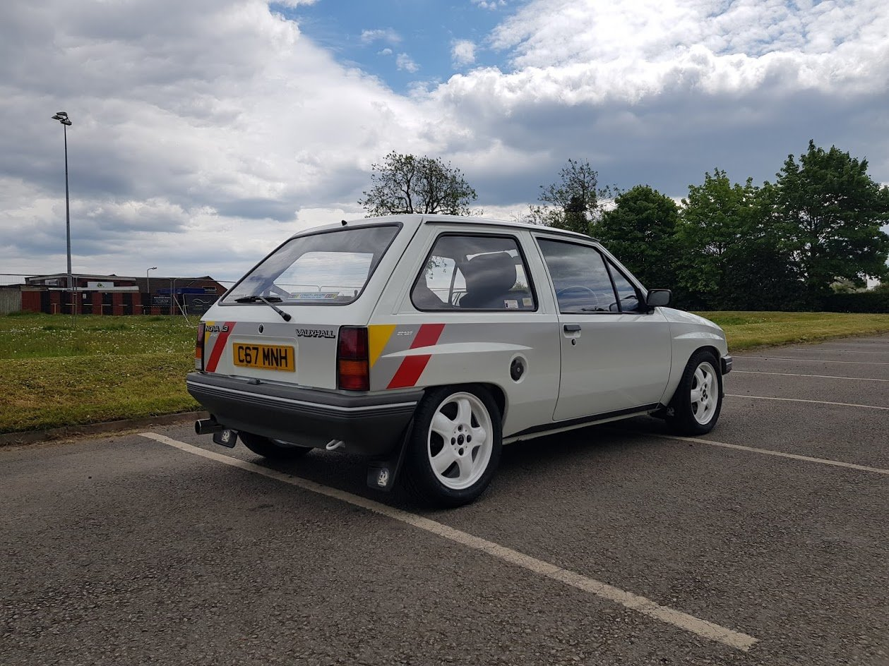 1985 Vauxhall Nova Sport 1.3 - rare and fully restored For Sale (picture 2 of 6)