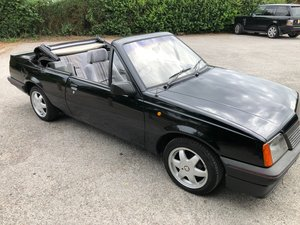 1987 Vauxhall Cavalier Convertible 1.8i manual