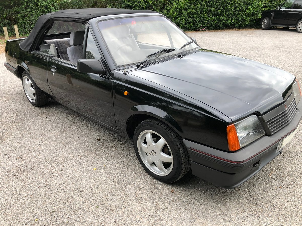 1987 Vauxhall Cavalier Convertible 1.8i manual For Sale (picture 6 of 6)