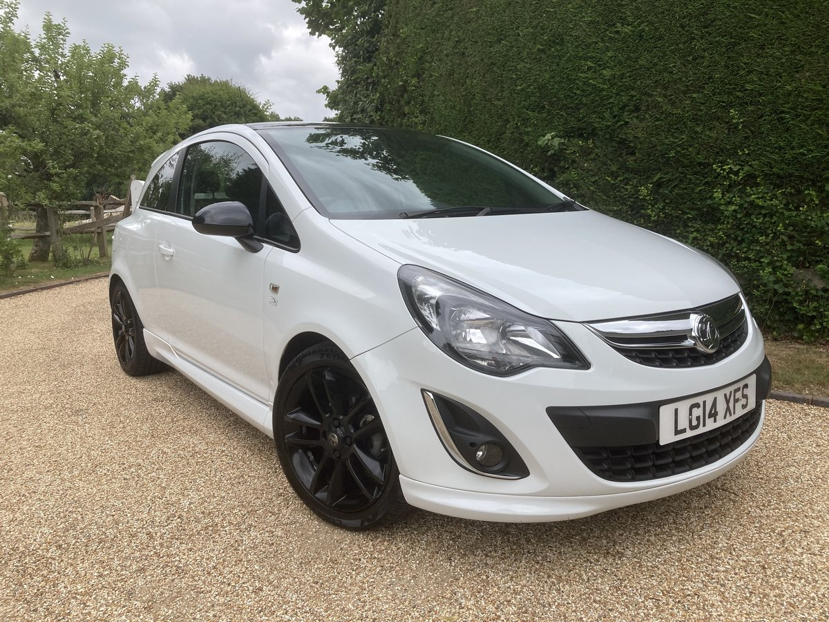 2014 Vauxhall Corsa 1.2 Limited 3 Door SOLD (picture 1 of 6)