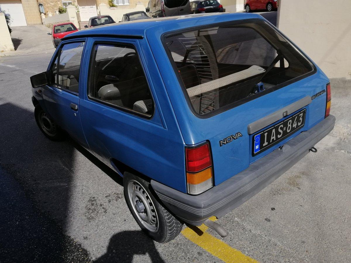 1989 Vauxhall Nova 3 door hatchback For Sale (picture 4 of 5)
