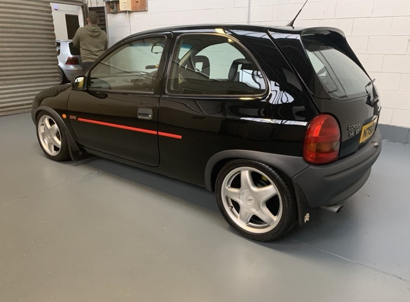 1995 Vauxhall Corsa SRI 16V For Sale (picture 5 of 6)