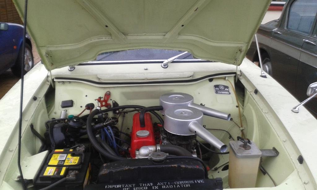 1963 Vauxhall FB VX 4/90, Low miles very original. For Sale (picture 4 of 6)