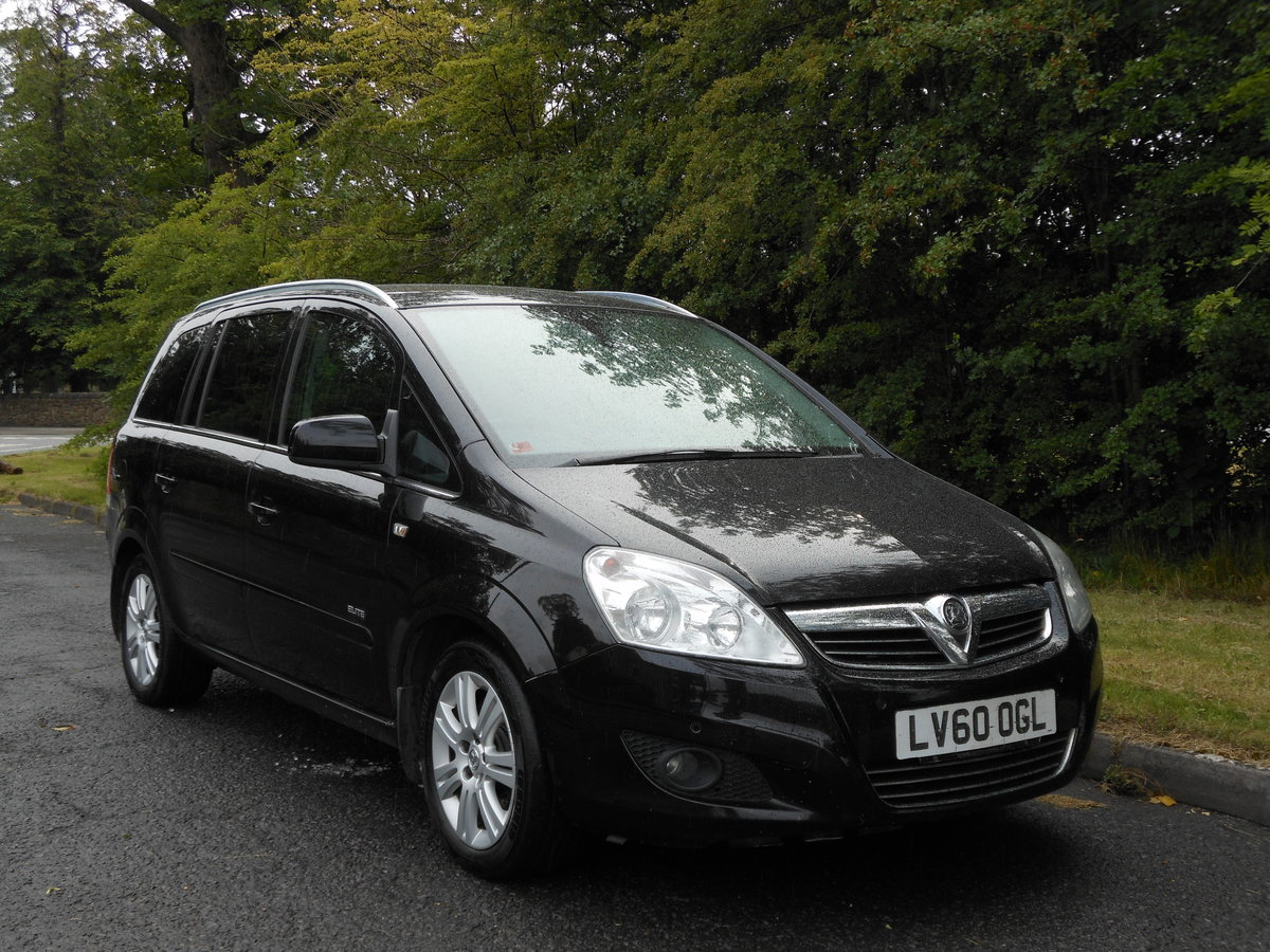 2010 Vauxhall Zafira 1.7 Ctdi Ecoflex Elite 7 Seat 6 Speed  For Sale (picture 1 of 6)