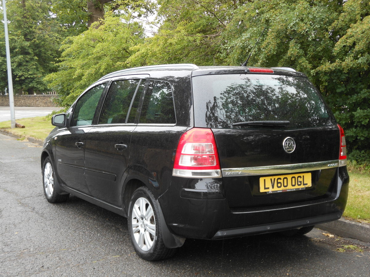 2010 Vauxhall Zafira 1.7 Ctdi Ecoflex Elite 7 Seat 6 Speed  For Sale (picture 3 of 6)