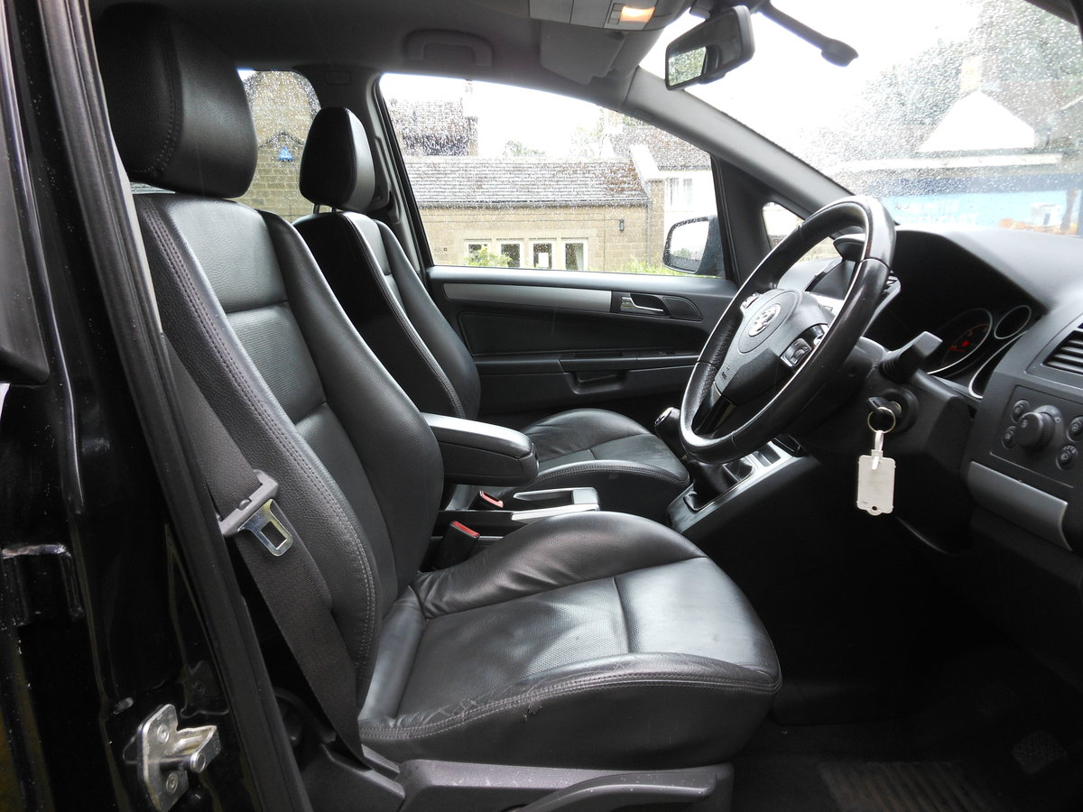 2010 Vauxhall Zafira 1.7 Ctdi Ecoflex Elite 7 Seat 6 Speed  For Sale (picture 5 of 6)
