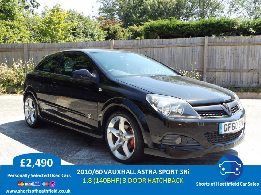 Vauxhall Astra 1.8 SRi Sports Hatch - 3 Door Coupe - 2010/60 SOLD (picture 1 of 1)