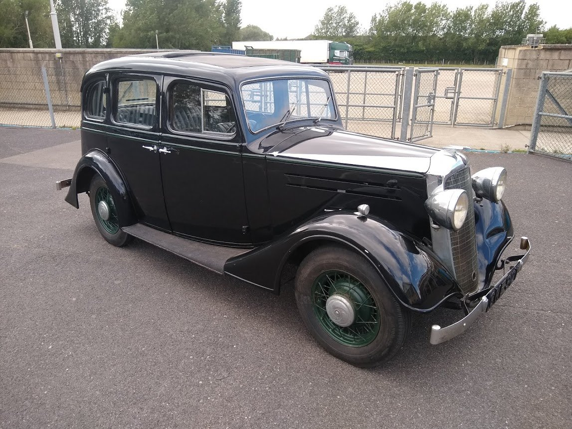 1935 Vauxhall 14/6 DX for auction 16th - 17th July For Sale by Auction (picture 2 of 6)