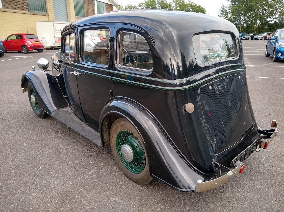 1935 Vauxhall 14/6 DX for auction 16th - 17th July For Sale by Auction (picture 4 of 6)