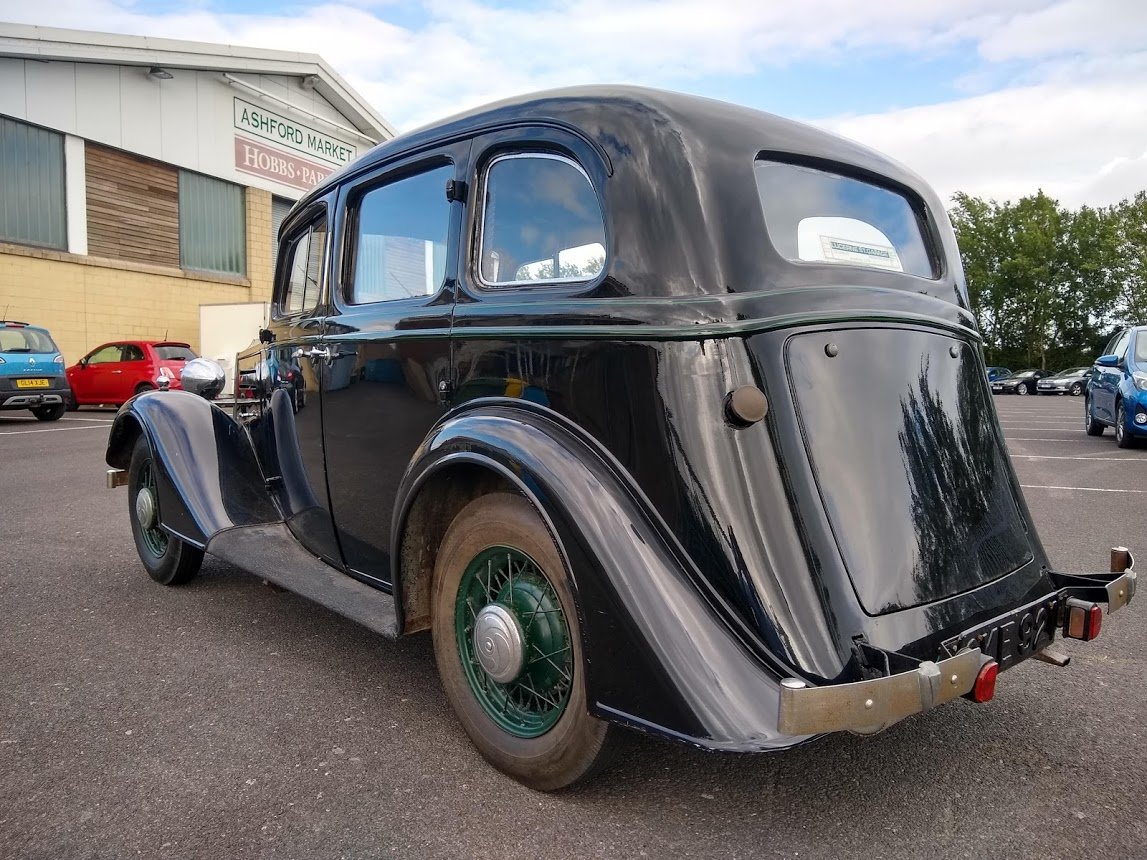 1935 Vauxhall 14/6 DX for auction 16th - 17th July For Sale by Auction (picture 5 of 6)