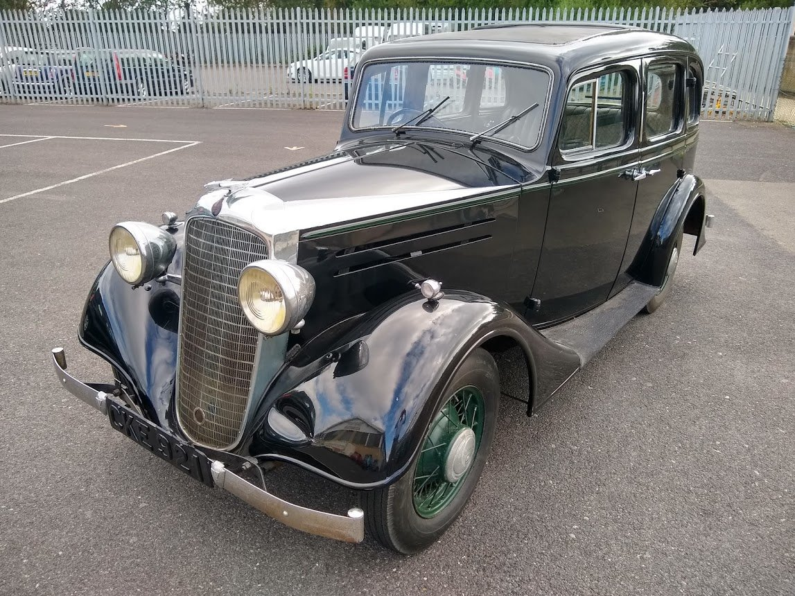 1935 Vauxhall 14/6 DX for auction 16th - 17th July For Sale by Auction (picture 6 of 6)