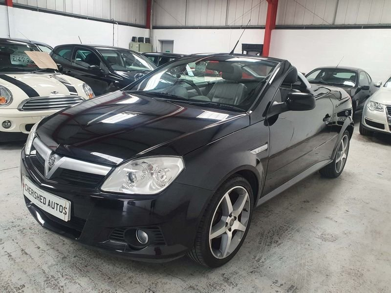 2009 BLACK VAUXHALL TIGRA 1.4 i 16V*GEN 21,000 MILES*EXCLUSIVE For Sale (picture 3 of 6)