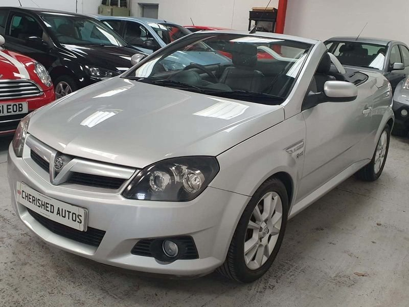 2005 SILVER VAUXHALL TIGRA 1.4 SPORT CARBIOLET*GEN 45,000 MILES For Sale (picture 2 of 6)