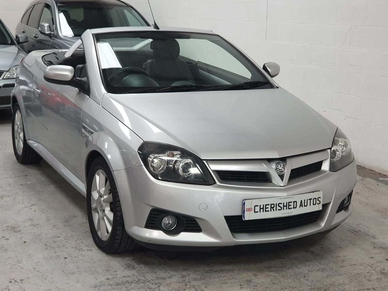 2005 SILVER VAUXHALL TIGRA 1.4 SPORT CARBIOLET*GEN 45,000 MILES For Sale (picture 3 of 6)