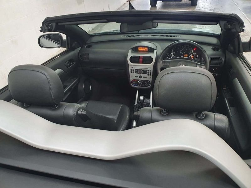 2005 SILVER VAUXHALL TIGRA 1.4 SPORT CARBIOLET*GEN 45,000 MILES For Sale (picture 6 of 6)