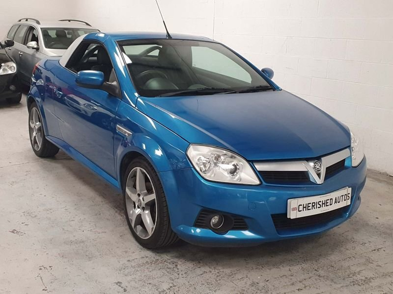 2009 BLUE VAUXHALL TIGRA 1.8 i 16v*GEN 40,000 MILES*EXCLUSIVE For Sale (picture 1 of 6)