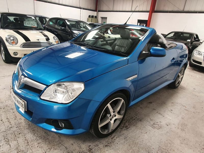 2009 BLUE VAUXHALL TIGRA 1.8 i 16v*GEN 40,000 MILES*EXCLUSIVE For Sale (picture 3 of 6)
