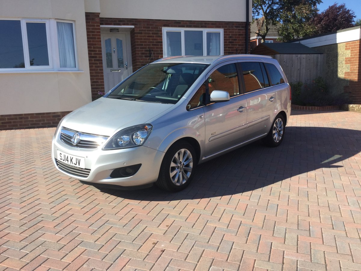 2014 Vauxhall Zafira  For Sale (picture 2 of 6)