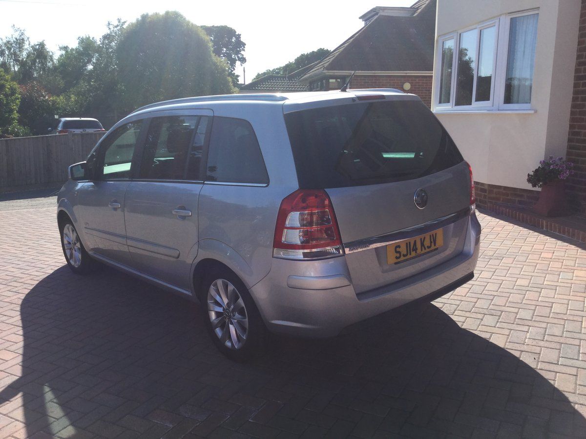2014 Vauxhall Zafira  For Sale (picture 3 of 6)