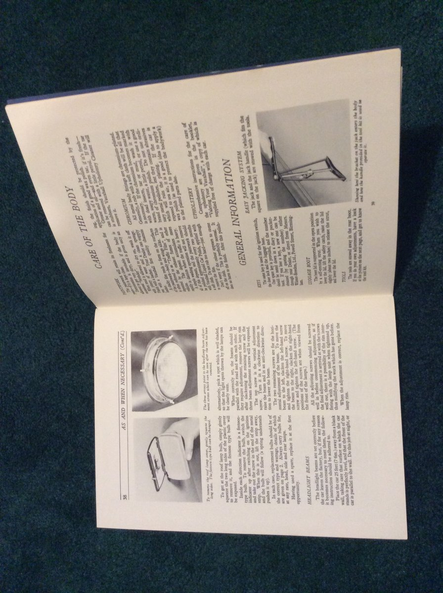 1950 Vauxhall velox Owners Handbook  For Sale (picture 2 of 2)