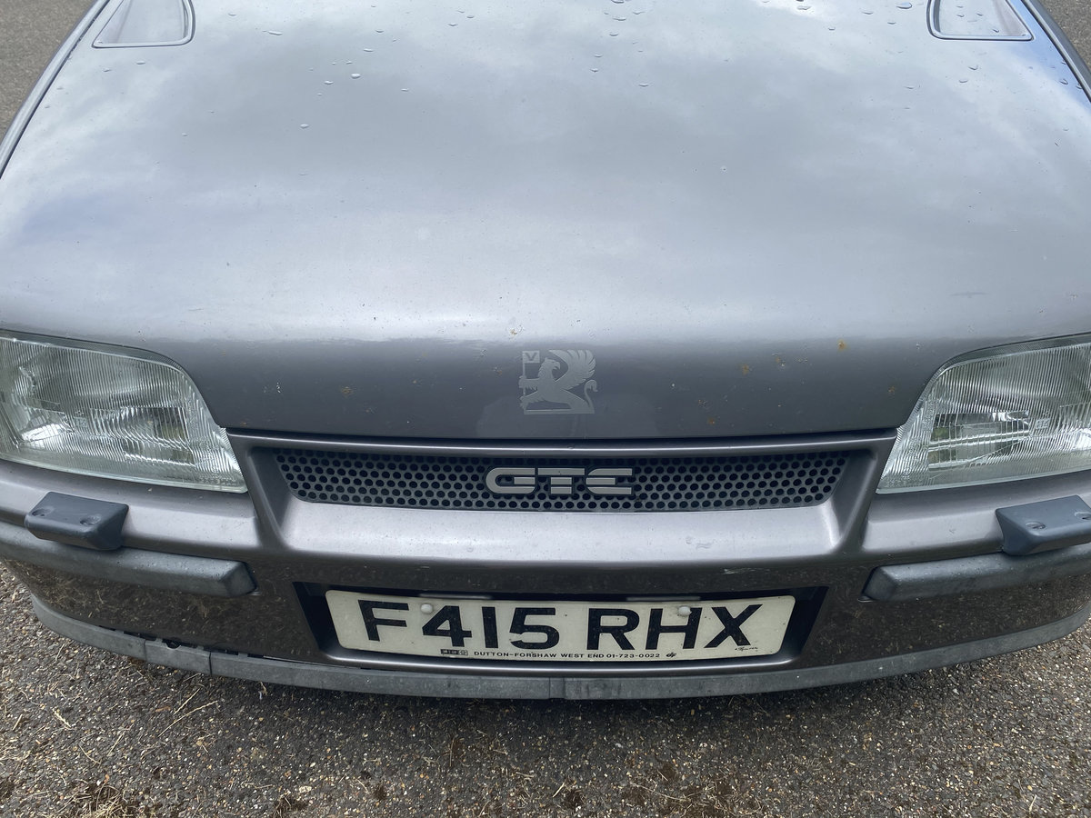 1989 Astra GTE Cabriolet For Sale (picture 2 of 6)
