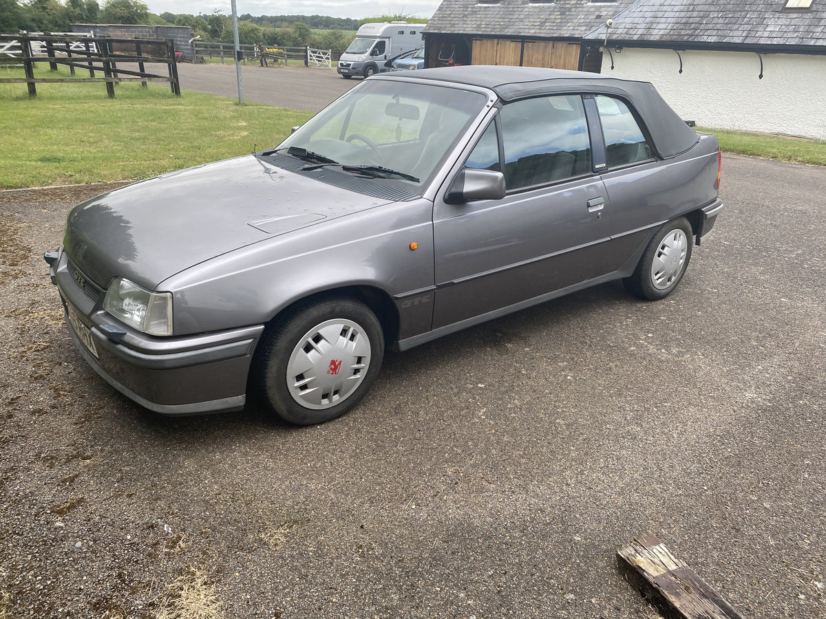 1989 Astra GTE Cabriolet For Sale (picture 6 of 6)