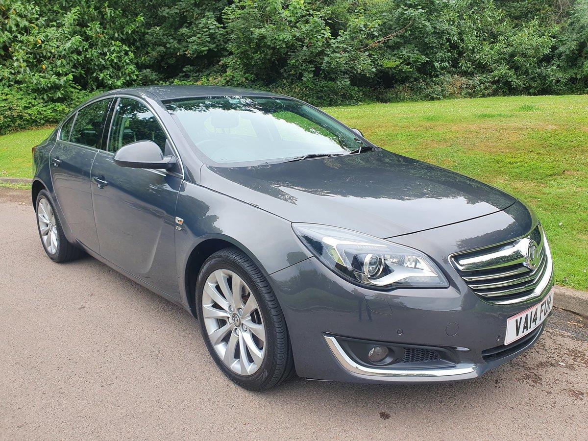 2014 Vauxhall Insignia CDTi Elite Auto.. Top Spec+Low Miles.. FSH SOLD (picture 2 of 6)