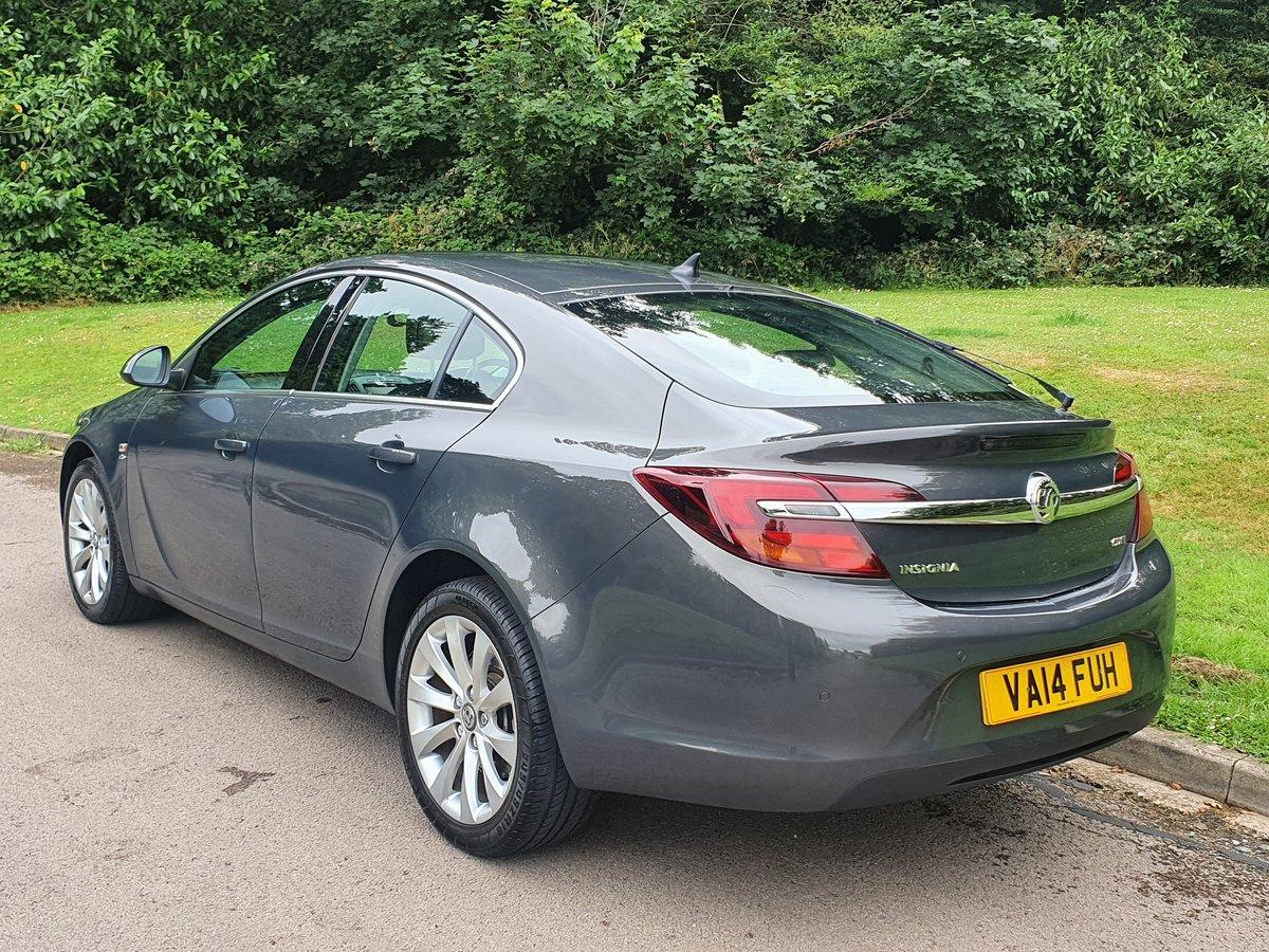 2014 Vauxhall Insignia CDTi Elite Auto.. Top Spec+Low Miles.. FSH SOLD (picture 5 of 6)