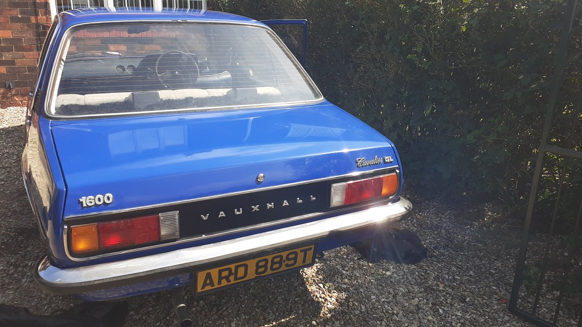 1979 Vauxhall Cavalier 1600 gl For Sale (picture 6 of 6)