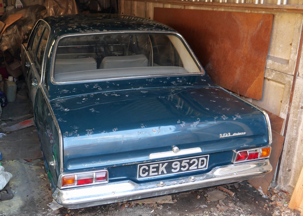 1966 Vauxhall Victor - New home for an old classic SOLD (picture 1 of 5)