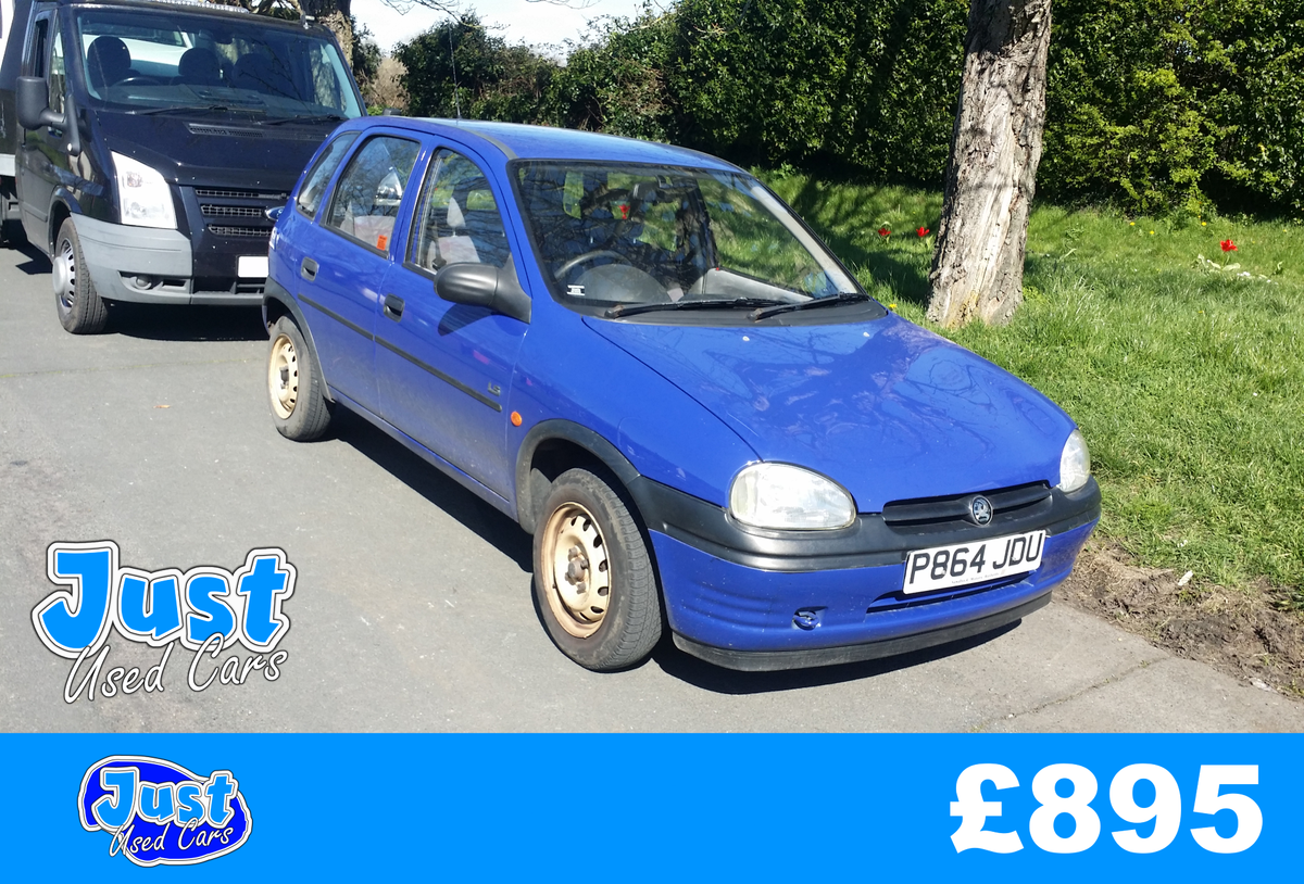 1996 Vauxhall Corsa 1.4 LS Auto P Reg  (Classic Mk1 For Sale (picture 1 of 6)