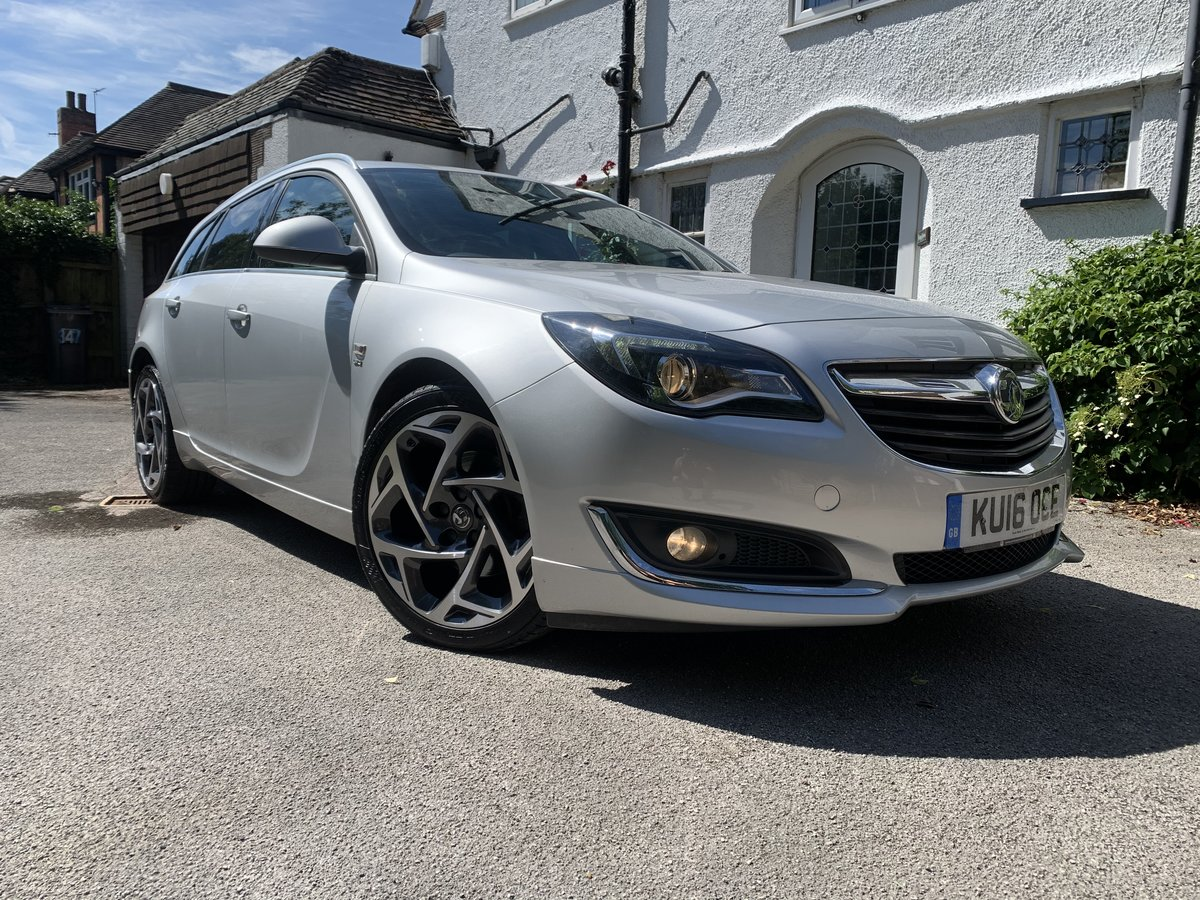 2016 Vauxhall Isignia CDTI sport Tourer Nav model VX-pack 170bhp For Sale (picture 1 of 6)