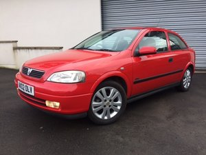 2002 Vauxhall Astra 1.6 SXi For Sale by Auction