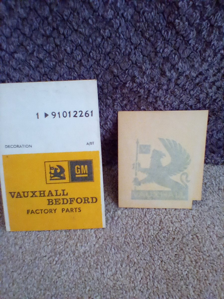 1975 Vauxhall Griffin Decal For Sale (picture 1 of 2)