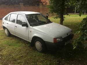 Vauxhall astra 1 owner low milage