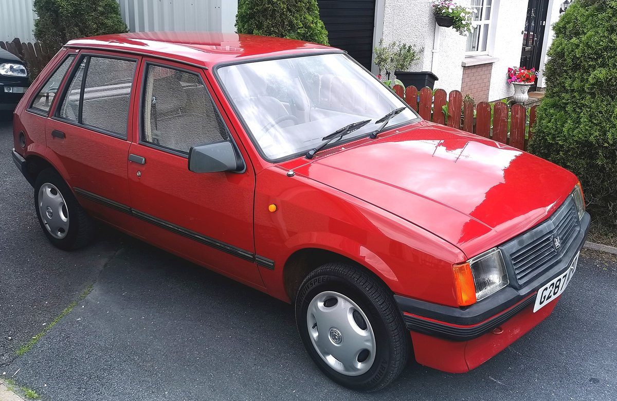 1990 Vauxhall Nova 1.2 For Sale (picture 1 of 5)