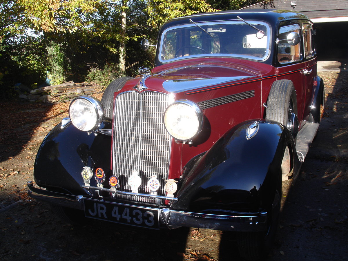 1936 Vauxhall BXL For Sale (picture 1 of 6)