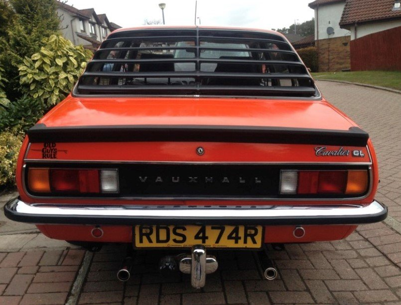 1976 Vauxhall Cavalier Mk1 1.6GL For Sale (picture 2 of 5)
