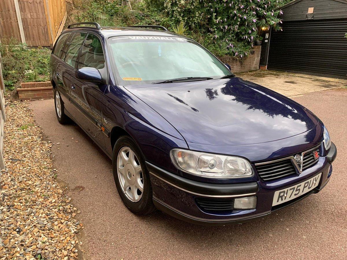 1997 Vauxhall Omega Estate CDX 2.5 V6 Manual - MOT 2021 For Sale (picture 1 of 6)
