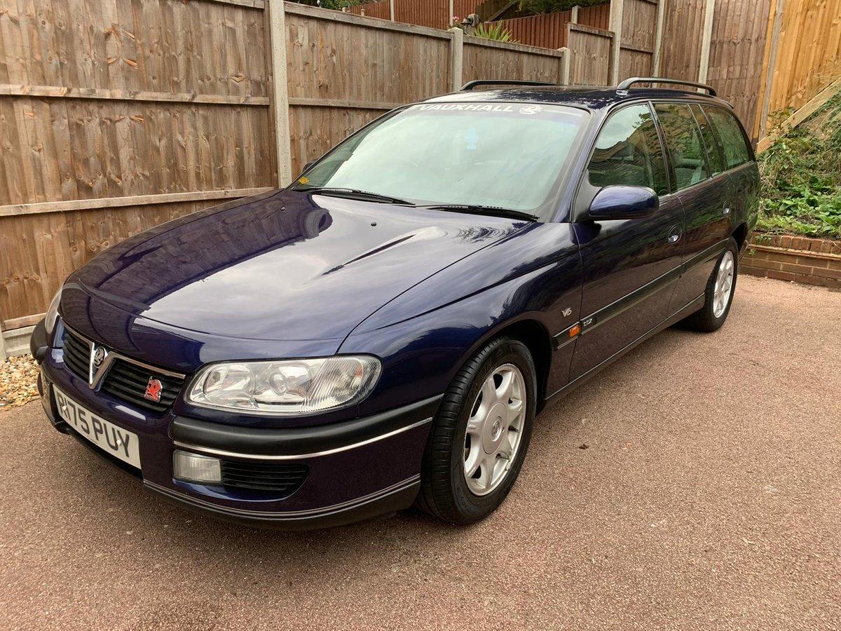 1997 Vauxhall Omega Estate CDX 2.5 V6 Manual - MOT 2021 For Sale (picture 3 of 6)