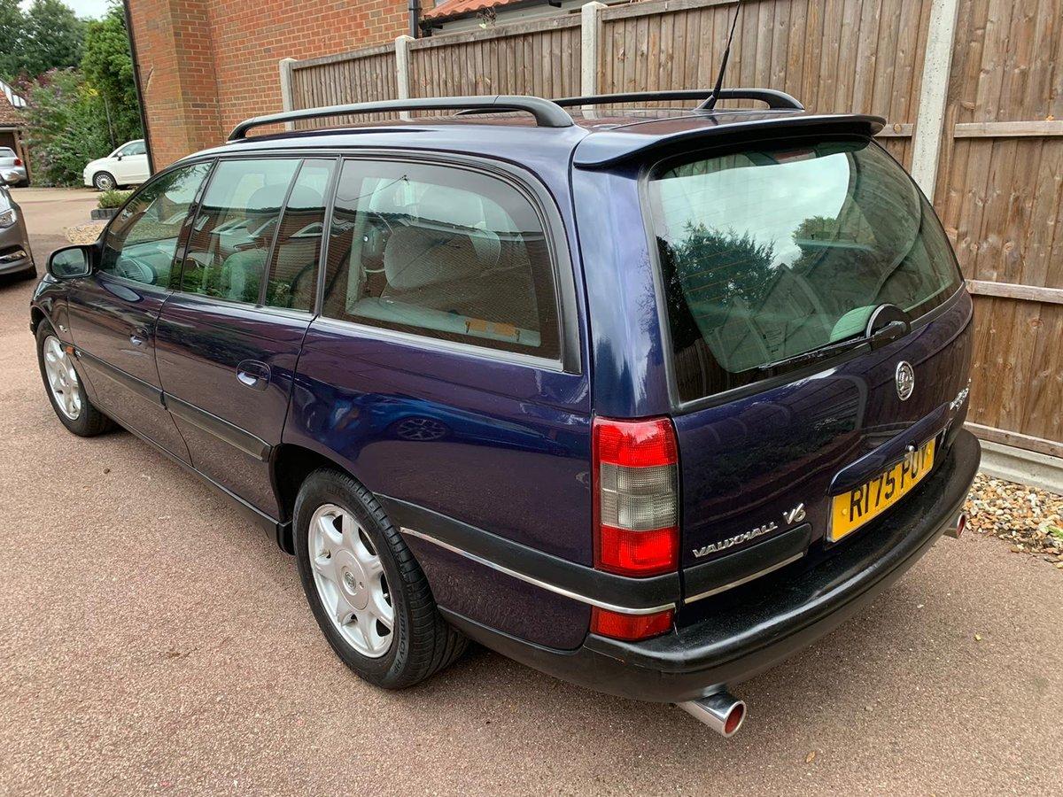 1997 Vauxhall Omega Estate CDX 2.5 V6 Manual - MOT 2021 For Sale (picture 4 of 6)