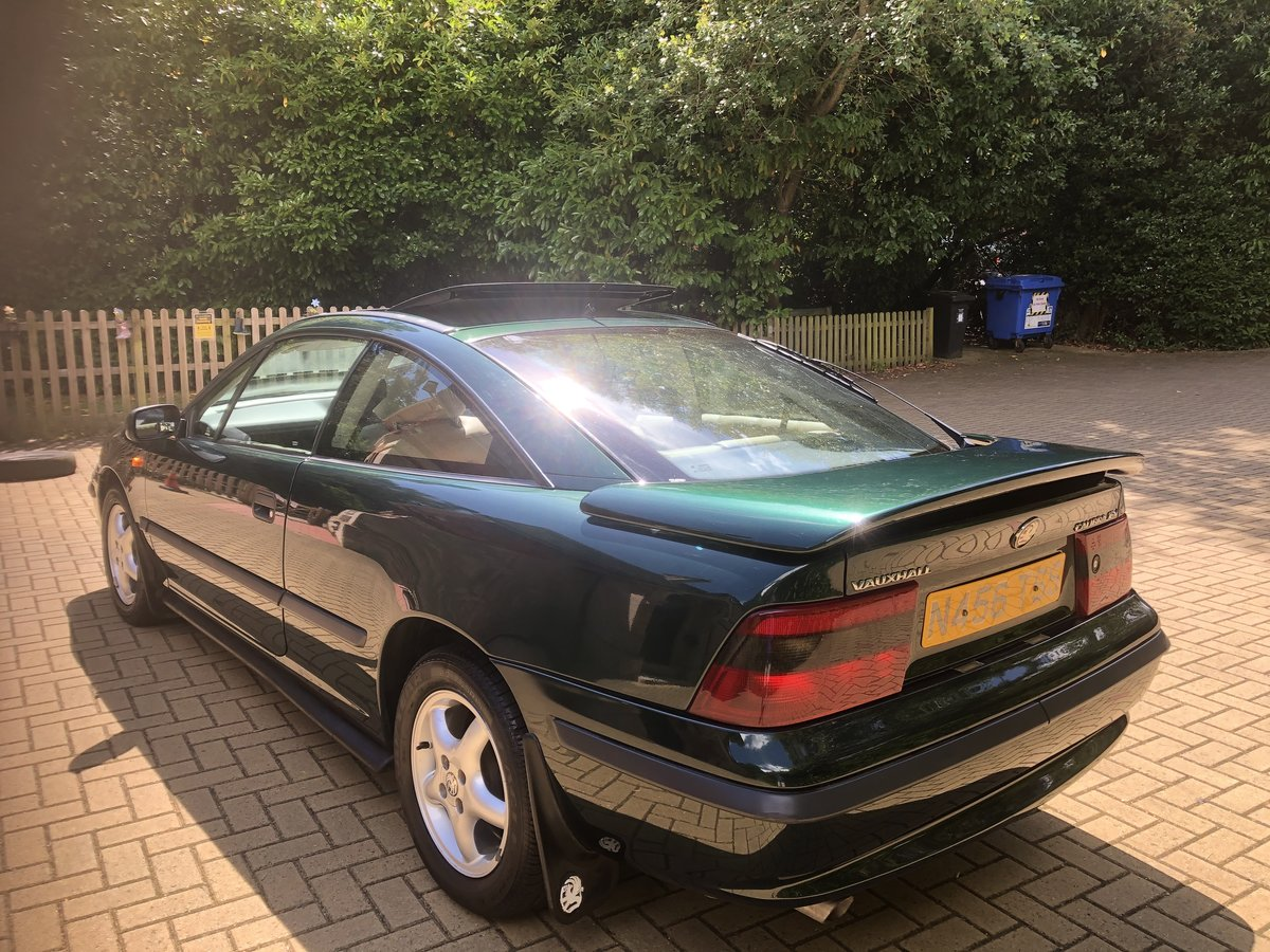 1995 Vauxhall  Calibra Full Main Dealer Service History For Sale (picture 3 of 6)