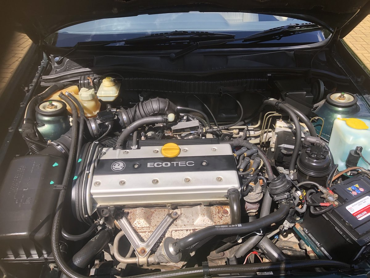 1995 Vauxhall  Calibra Full Main Dealer Service History For Sale (picture 5 of 6)