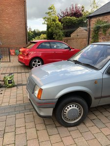 1988 Vauxhall Nova Merit 1.2