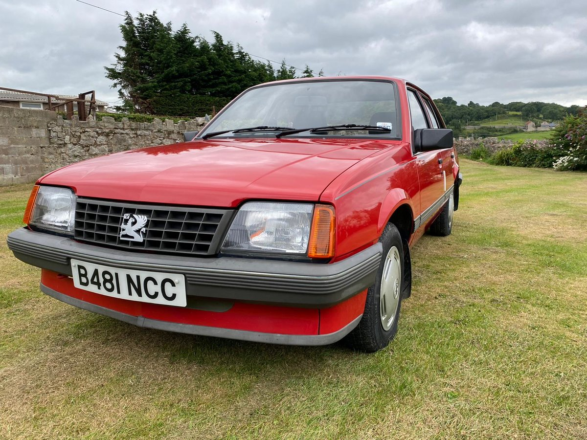 1986 Vauxhall Cavalier SOLD (picture 1 of 6)